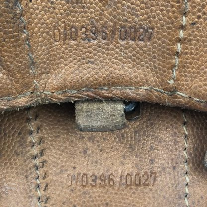 Original WWII German light brown K98 ammo pouches
