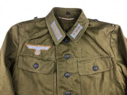 Original WWII German 3rd pattern Tropical uniform in mint condition