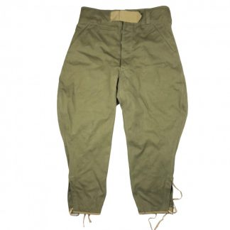 Original WWII German 3rd pattern tropical trousers