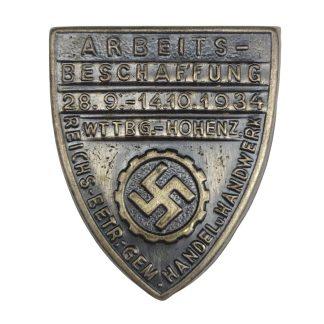 Original WWII German Arbeitsbeschaffung pin