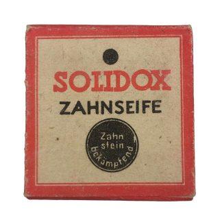Original WWII German Solidox Zahnseife