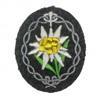 Original WWII German Gebirgsjäger arm patch