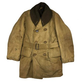 Original WWII US British made Mackinaw coat 1944