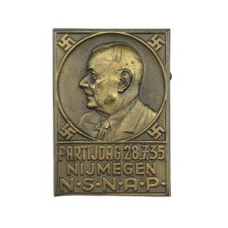Original 1935 NSNAP pin Nijmegen