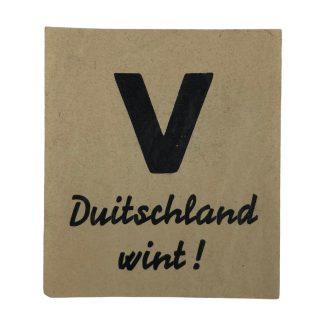 Original WWII Dutch NSB Victory – Germany Wins! Flyer