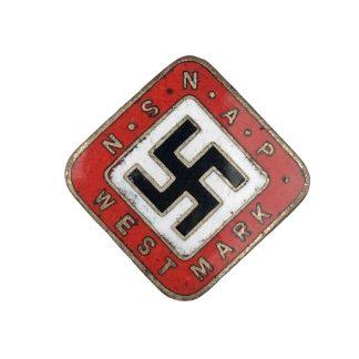 Original WWII Dutch NSNAP 'Westmark' pin