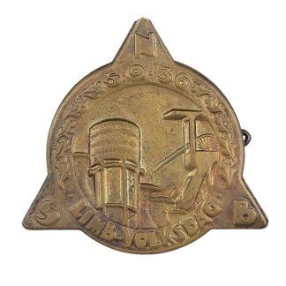 Original WWII Dutch NSB public day Limburg 1935 pin
