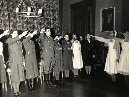 Original WWII Flemish DRK & Waffen-SS photo grouping – Training