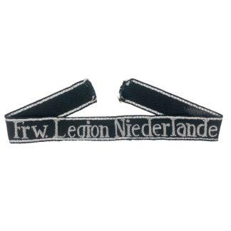 Original WWII Dutch SS-Freiwillige Legion Niederlande officers cuff title