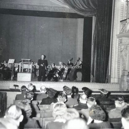 Original WWII Flemish Waffen-SS photo grouping – Concert in Belgium
