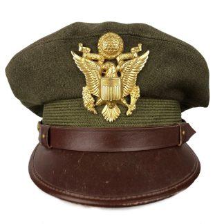 Original WWII US visor cap