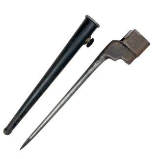 Original WWII British MK2 spike bayonet