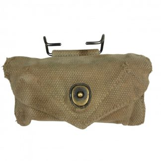 Original WWII US first aid pouch with package