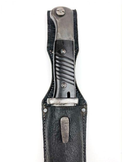 Original WWII Mauser K98 bayonet with frog