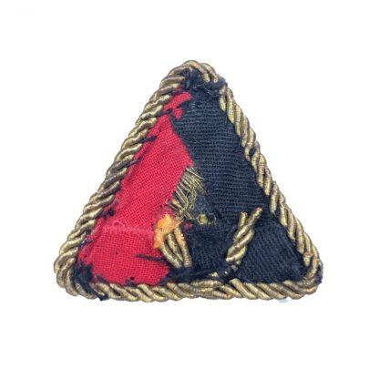 Original WWII Dutch NSB W.A. visor cap insignia
