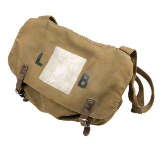 Original WWII Dutch 'Luchtbeschermingsdienst' first aid bag with containment