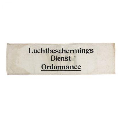 Original WWII Dutch 'Luchtbeschermingsdienst' Ordonnance armband