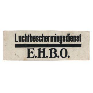 Original WWII Dutch 'Luchtbeschermingsdienst' E.H.B.O. armband