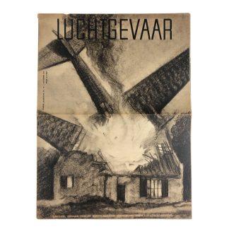 Original WWII Dutch 'Luchtbeschermingsdienst' magazine Luchtgevaar