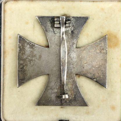 Original WWII German Iron Cross 1st class in box - L55