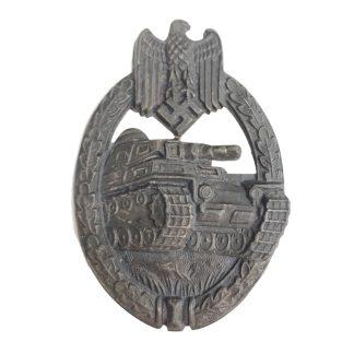 Original WWII German Panzerkampfabzeichen in Silber
