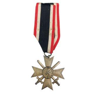 Original WWII German War merit Cross with swords