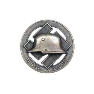 Original WWII German Stahlhelmbund N.S.D.F.B.St. membership pin