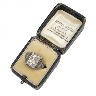 Original WWII German Krim (Crimea) campaign ring in box