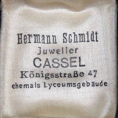Original WWII German Krim (Crimea) campaign ring in box