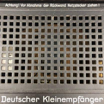 Original WWII German Klein Volksempfanger radio
