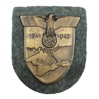 Original WWII German WH/SS Krim shield