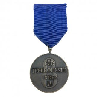 Original WWII German SS 8 years long service award