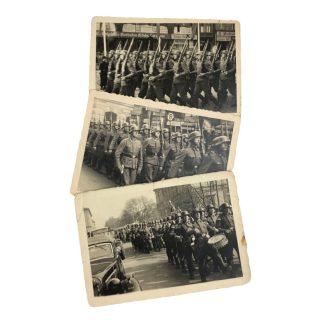 Original WWII German Waffen-SS parade photos