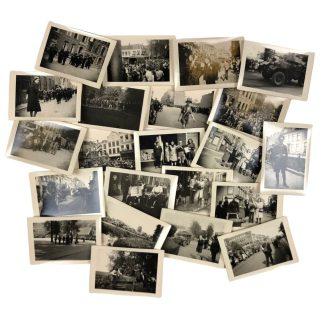 Originele WWII Nederlandse foto set 'Bevrijding van Utrecht - mei 1945'
