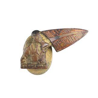 Original WWII Dutch 'Luchtbeschermingsdienst' buttonhole pin Den Haag