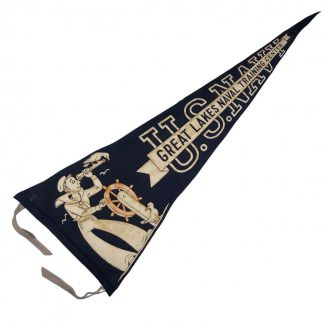 Original WWII US Navy pennant