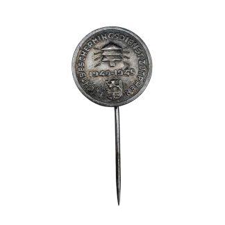 Original WWII Dutch 'Luchtbeschermingsdienst' pin Zutphen