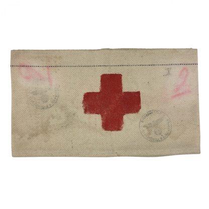 Original WWII Dutch made Sanitäter armband