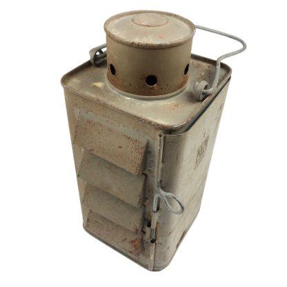 Original WWII Dutch 'Luchtbeschermingsdienst' blackout lantern