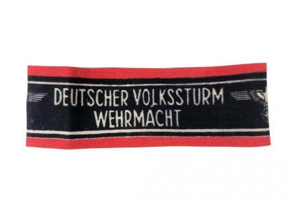 Original WWII German Volkssturm armband