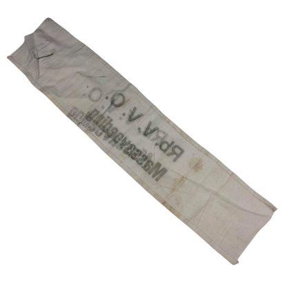 Original WWII Dutch Rb. V.V.O. Massavoeding armband