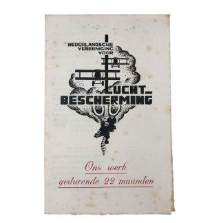 Original WWII Dutch N.V.L. information flyer