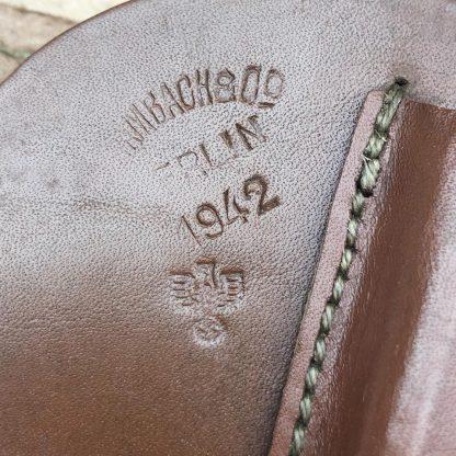 Original WWII German PPK Holster Schambach & Co 1942
