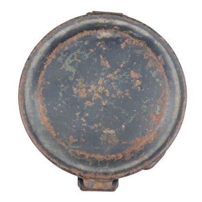 Original WWII German & Spanish civil war gasmask cannister with gasmask