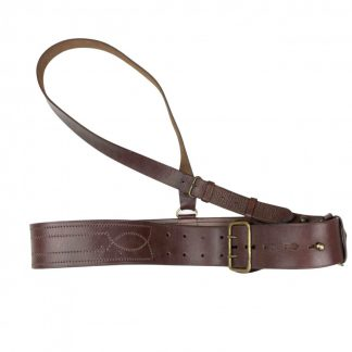 Original Pré 1940 Dutch army 'Sam Brown' belt