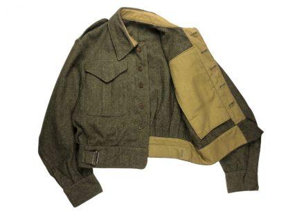 Original WWII Canadian battle dress jacket 1944