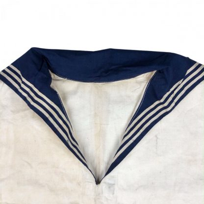 Original WWII Russian Navy white summer shirt 1943