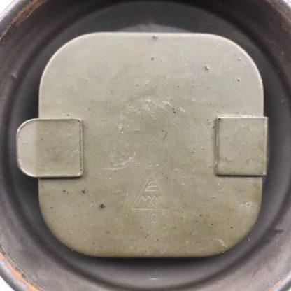 Original WWII German Gasmask canister with gasmask – Hoek van Holland Stab Marine-Flak-Abteilung 813