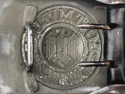 Original WWII German WH Heer buckle – G.H. Osang Dresden 1940