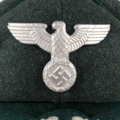 Original WWII German State Forestry visor cap